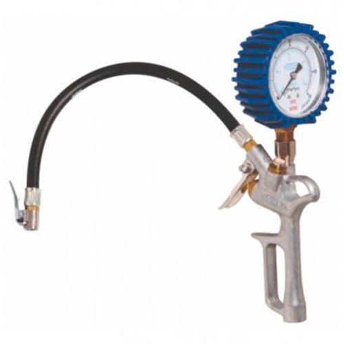 calibrador e medidor de pressão tipo pistola de 0 a 60 psi