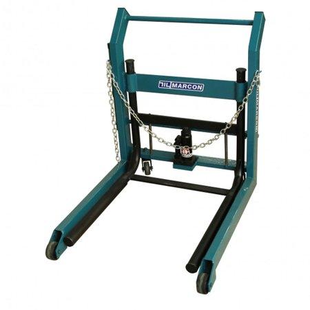 macaco hidráulico para retirar rodas duplas de caminhões e ônibus  500 kg