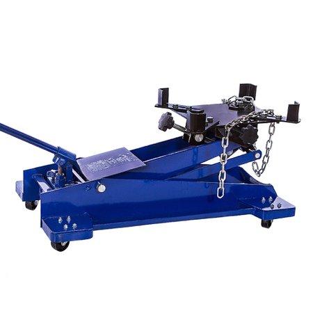 macaco hidráulico azul para caixa de transmissão 1 tonelada