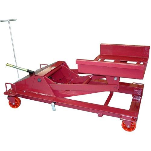 macaco hidráulico universal para caixa de câmbio de caminhões médios e pesados