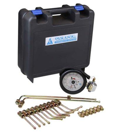 equipamento p/ medir pressão da linha de combustível do sistema common rail (diesel)
