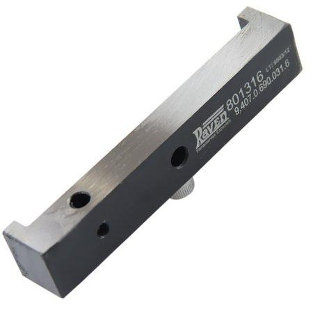 suporte para relógio comparador - 10 mm de curso