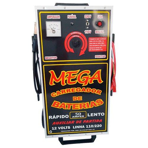 carregador de baterias de 50a 110-220v