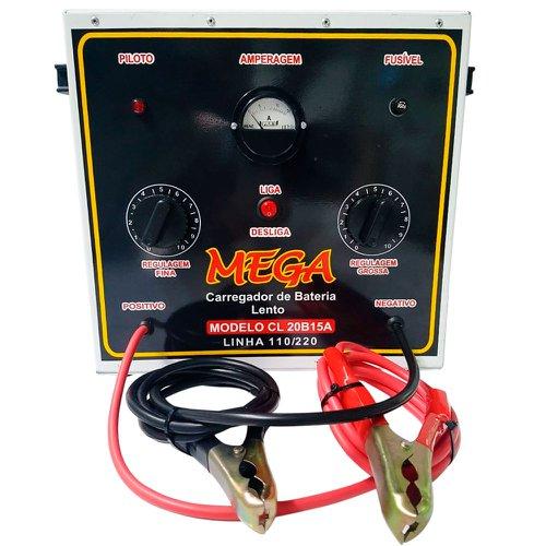 carregador de baterias portátil de cargas lentas 15a 240v 110/220v