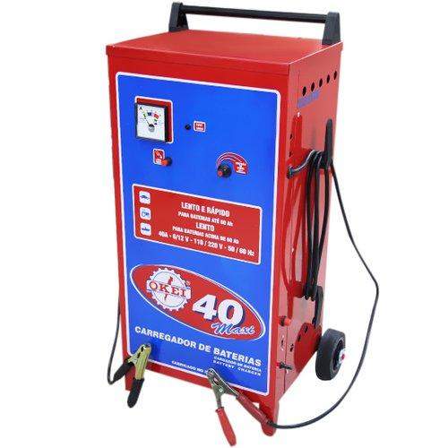carregador de bateria 40 maxi - 12 v