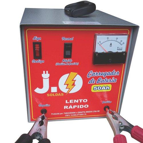 carregador de bateria compacto 50ah 12v bivolt