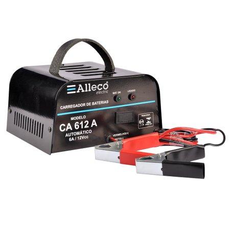 carregador de baterias automático 6a/12v