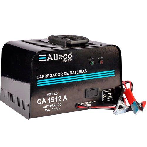 carregador de baterias 15a/12v automático