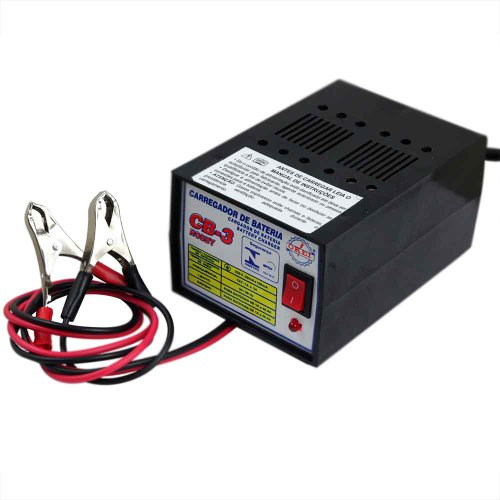 carregador de bateria hobby até 40 ah - 110 v