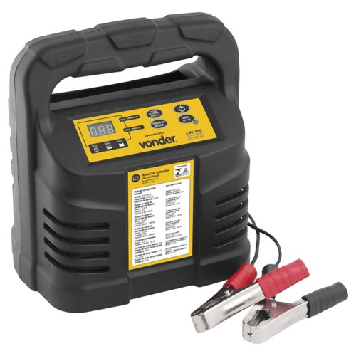 carregador inteligente de bateria 12v 220v - cib 200