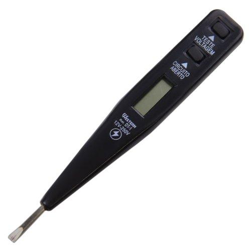 teste de voltagem e corrente elétrica digital 12 v a 250 v