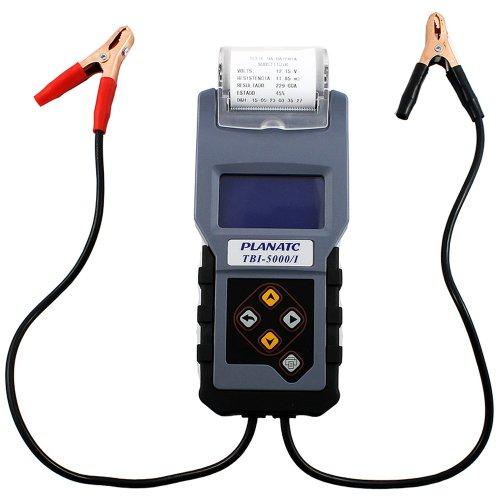 teste de bateria digital com impressora térmica embutida