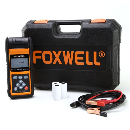 teste de bateria digital com impressora térmica embutida foxwell