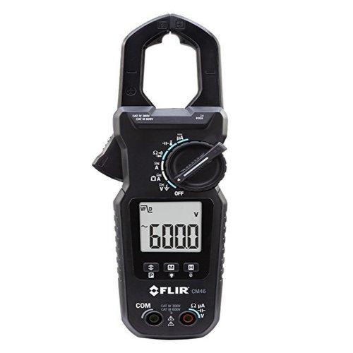 alicate amperímetro 400a true-rms clamp-on accu-tip