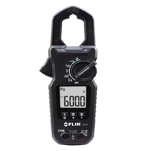 alicate amperímetro 400a true-rms clamp-on accu-tip e temperatura