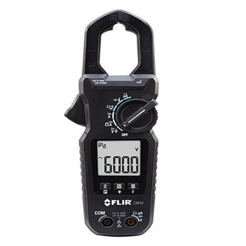 alicate amperímetro 400a true-rms clamp-on accu-tip, temperatura e tensão ca