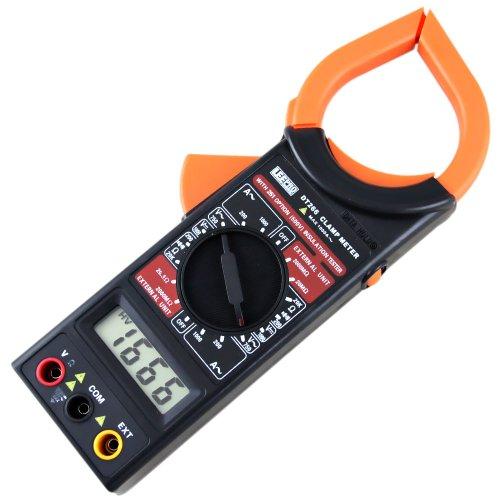 alicate amperímetro digital preto dt266 l