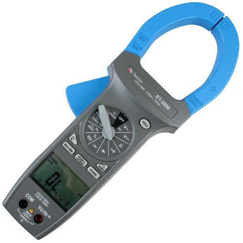 alicate amperímetro digital 57mm