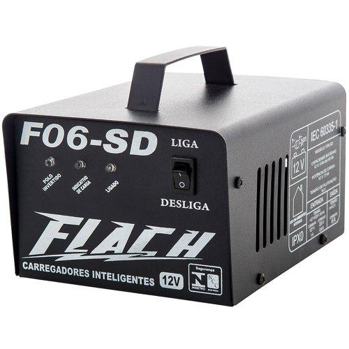 carregador inteligente de bateria 6a 14v sem display