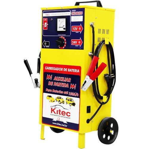carregador de baterias de 24 v com auxiliar de partida de 200 a/h