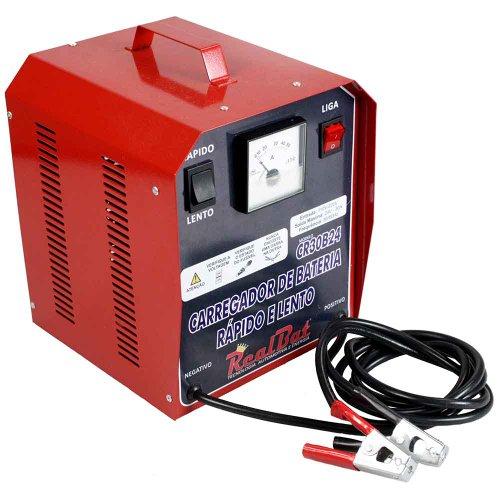 carregador de baterias 24v  rápido e lento