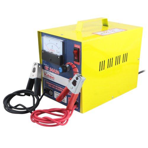 carregador de baterias rápido e lento com auxiliar de partida para motos 30a 24v