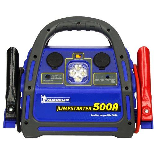 auxiliar de partida jump starter 12 v 500 a com luz de emergência