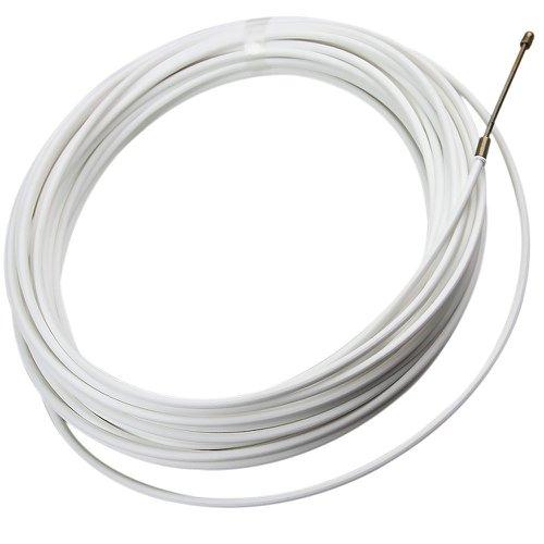 puxador de fios em plástico flexível com 20 metros