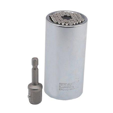 soquete universal de 1/2 pol. com adaptador