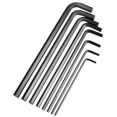 jogo de chaves allen longa de 3 a 10 mm com 8 peças