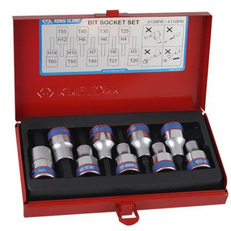 jogo de chave soquete de 1/2 pol. com 9 peças