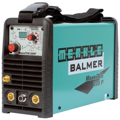 Máquina de Solda Maxxi Tig200p 220v Merkle Balmer