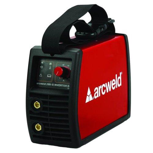 máquina inversora de solda tig 130a 220v arcweld 130i-s