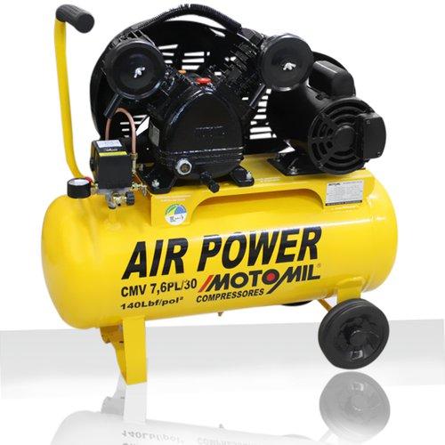 Compressor de Ar Elétrico Motomil Cmv7,6pl/30l 220v
