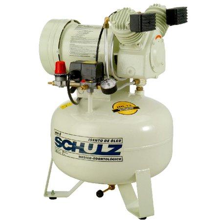 Compressor de ar odontologico silencioso 6pcm 29 litros - Compresor 6 litros ...