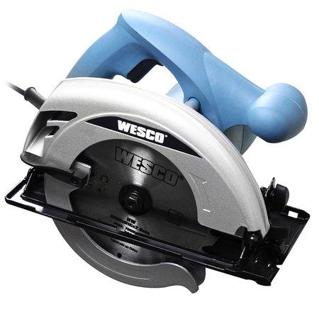 Serra Elétrica Circular Wesco Ws3439 1500w - 110v