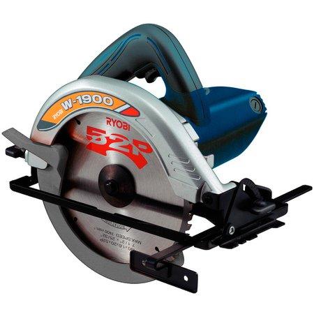 Serra Elétrica Circular Ryobi W1900 1050w - 110v