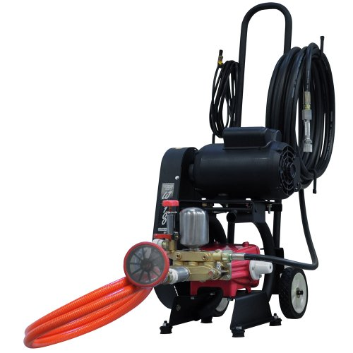 lavadora profissional monofásica lj3100 400 libras 110/220v com carrinho e mangueira 10 metros