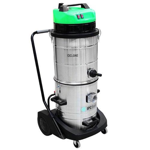 aspirador industrial para sólidos e líquidos ciclone 2400w 62 litros 220v