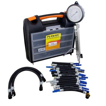 equipamento de teste de pressão e vazão simultânea