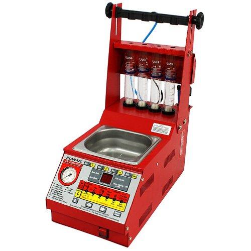 equipamento para teste e limpeza ultrassônica de bicos injetores com cuba embutida g3