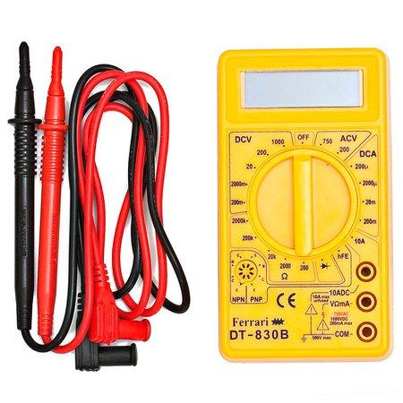 multímetro digital md 3 1/2 dígitos