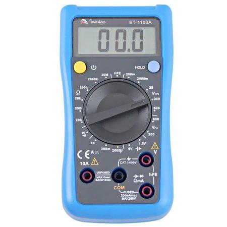 multímetro digital et-1100a