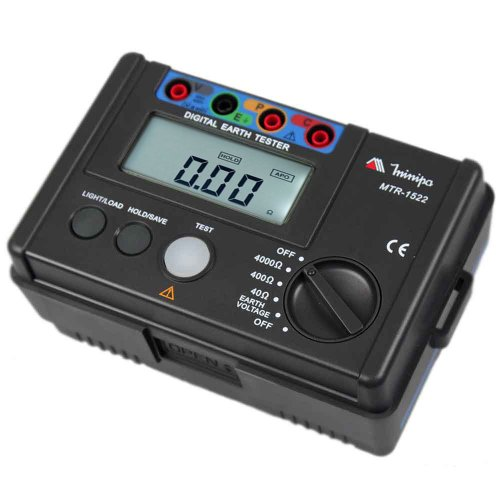 terrômetro digital cat iii 600v