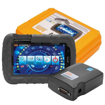 scanner automotivo raven 3 com tablet de 7 pol.