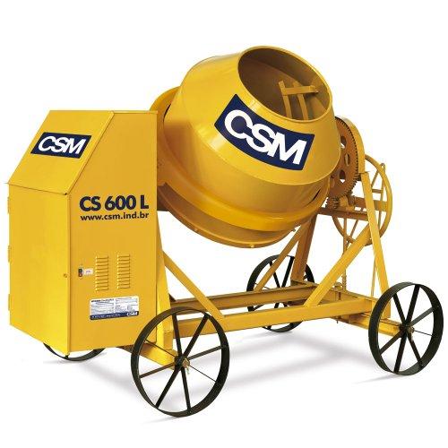 betoneira 600 litros motor  4cv trifásico
