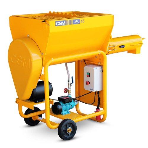 argamassadeira 45 litros trifásica 220/380v