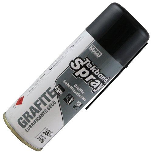 grafite lubrificante seco spray 200ml