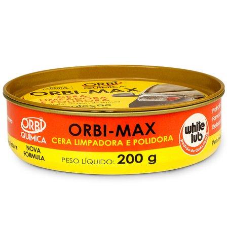cera limpadora orbimax de 200g