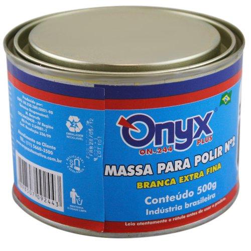 massa para polir n°2 500grs